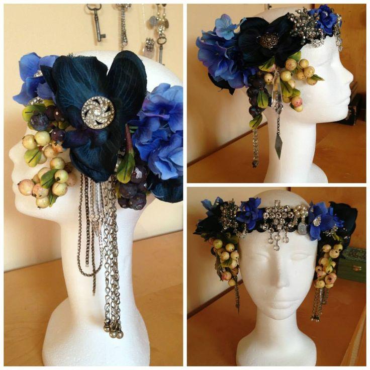 Headdress for Rustiqua Winter Mehtamorhosis piece