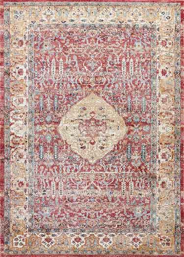 Deconstructing elements of traditional Persian rugs and textures, the Tabriz collection brings together the best of classic and contemporary. Machine-made for durability and easy care, these rugs are evidence that not all works of art require framing.