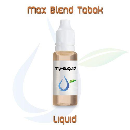 Max Blend Tabak Liquid | My-eLiquid E-Zigaretten Shop | München Sendling