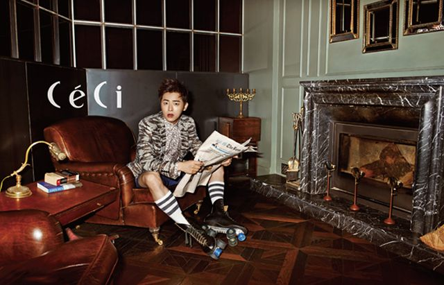 Jo Jung Seok - Ceci Magazine September Issue 13