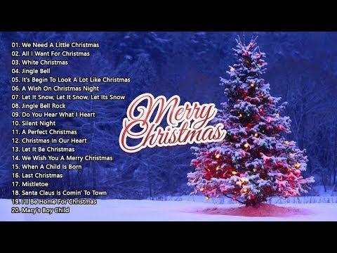 Christmas Music 2019 Youtube Merry Christmas 2019   The 40 Most Beautiful Christmas Songs