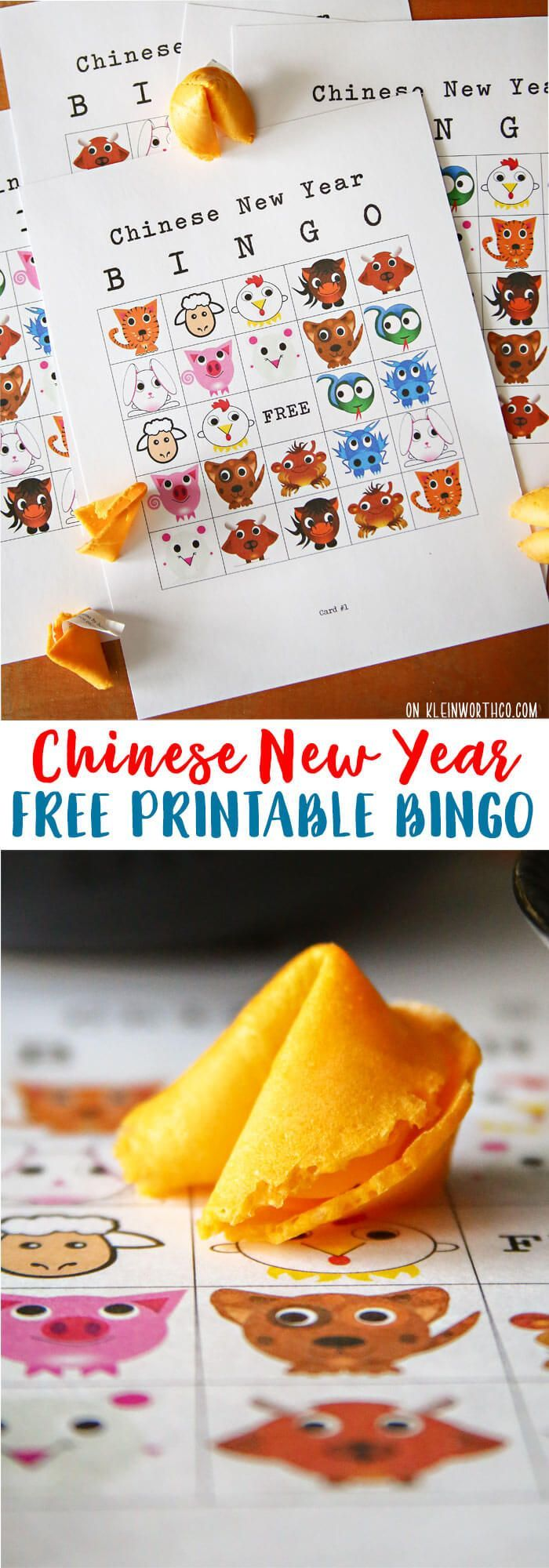 Create a family fun night & celebrate Chinese New Year with this FUN Chinese New Year Bingo Printable. Tasty food & cultural inspiration! AD