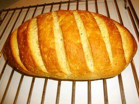 バター不要のスペルト小麦パン