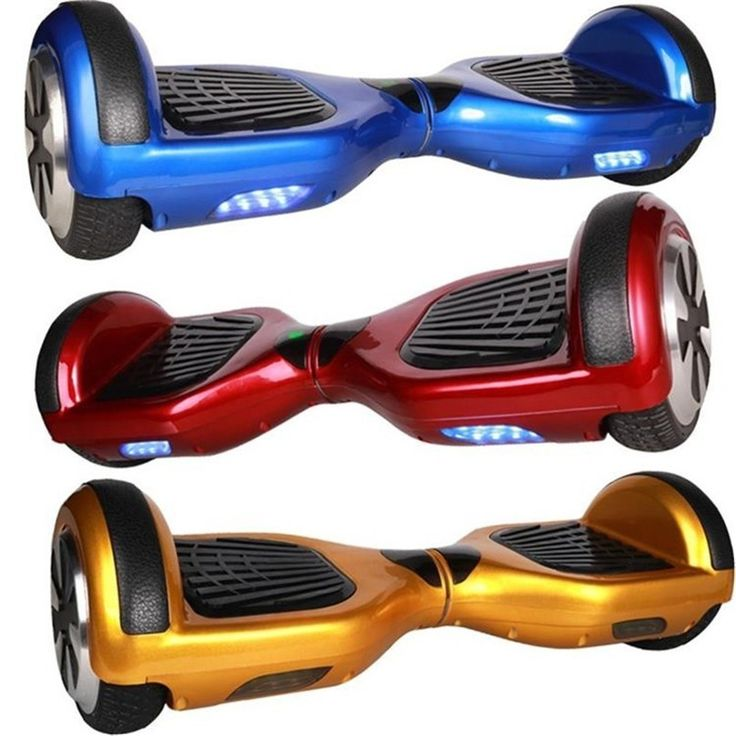 Electric Scooter Skateboard Giroskuter Smart Balance Chrome 6.5-inch 2-Wheels - Electric Scooters