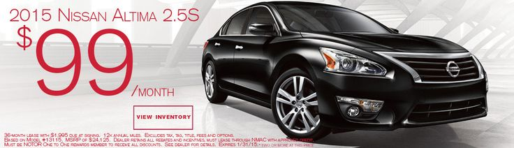 Current #LeaseSpecials at #Naples #Nissan #Altima #Auto #cars #shopping #sedan #familycars http://www.naplesnissan.com/newspecials.aspx