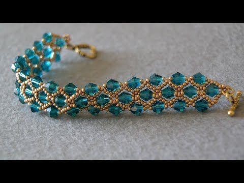 Zwei Nadel einfach und stilvoll Armband machen Tutorial Armband machen