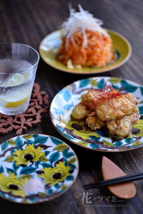 牡蠣のチヂミとビビン麺 - Korean Oyster JIYON and VivinMyon