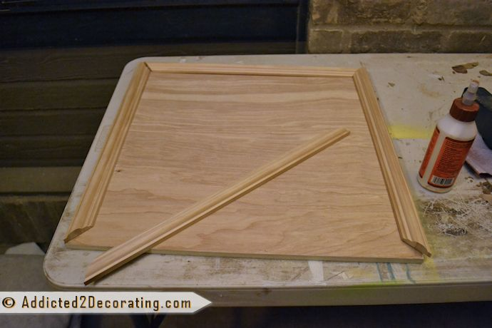 Bathroom Makeover Day 3 How To Make Cabinet Doors