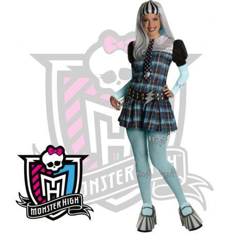 #Disfraz #Frankie #Stein Monster High adulta Perfecto para tus fiestas, mercadisfraces tú #tienda de #disfraces #online