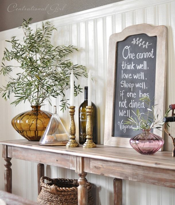 Love this console table from World Market - Everett Table only $255