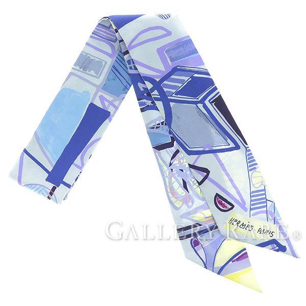 エルメス スカーフ ツイリー シルクツイル 熱帯のモダニズム Modernisme tropical HERMES シルクスカーフ