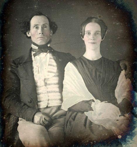1/6 PLATE DAGUERREOTYPE PHOTO PORTRAIT OF A COUPLE | eBay
