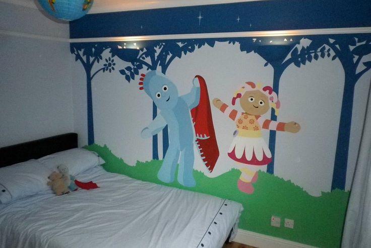 ... In The Night Garden Iggle Piggle ADWB Designs Mural Graffiti Artist And  Custom Art Worker Part 28