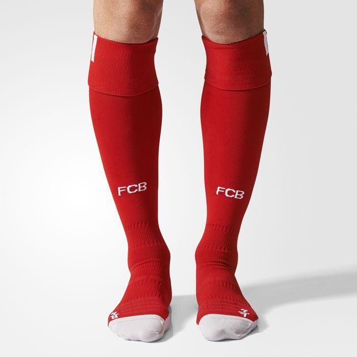 adidas FC Bayern Munich Home Socks 1 Pair - Mens Soccer Socks