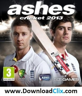 Ashes Cricket 2013 Free Download - Download Clix
