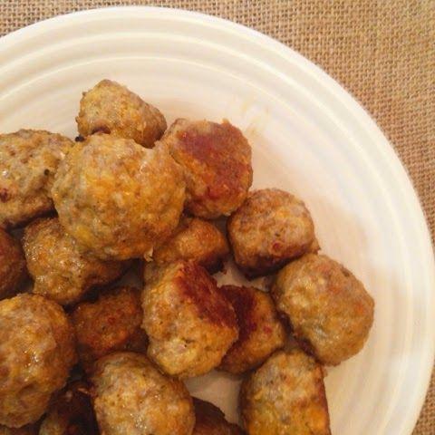 Accidentally Wonderful: Low Carb Sausage Balls