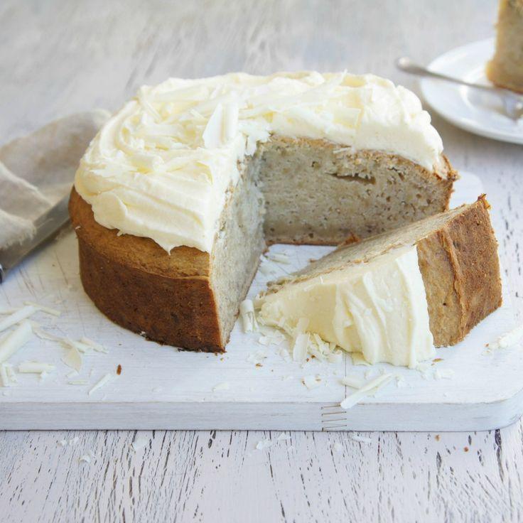 #RecipeoftheDay: White Chocolate and Banana Mud Cake by rick-ash