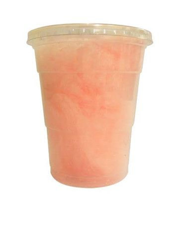 1 litre Empty Candy Floss plain Containers with lids .