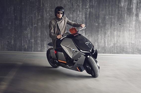 Scooter électrique : le successeur du BMW C Evolution en concept