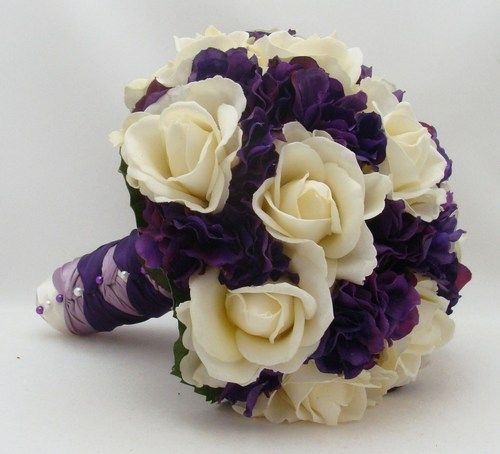Purple Hydrangea Wedding Bouquets | purple hydrangea bouquet wedding - Google Search | One day