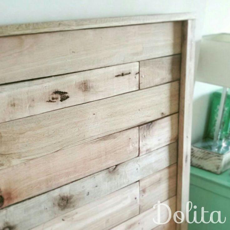 Respaldo madera reciclada. Pino Americano