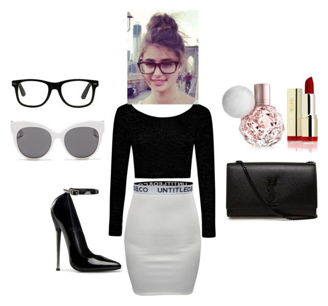 """""""office wear"""" by neha-barangali on Polyvore featuring Boohoo, Yves Saint Laurent and Blanc & Eclare"""
