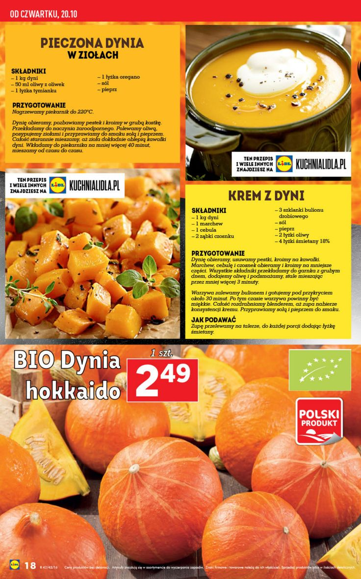 Gazetka Lidl - oferta ważna 20.10 - 26.10 | Lidl Polska