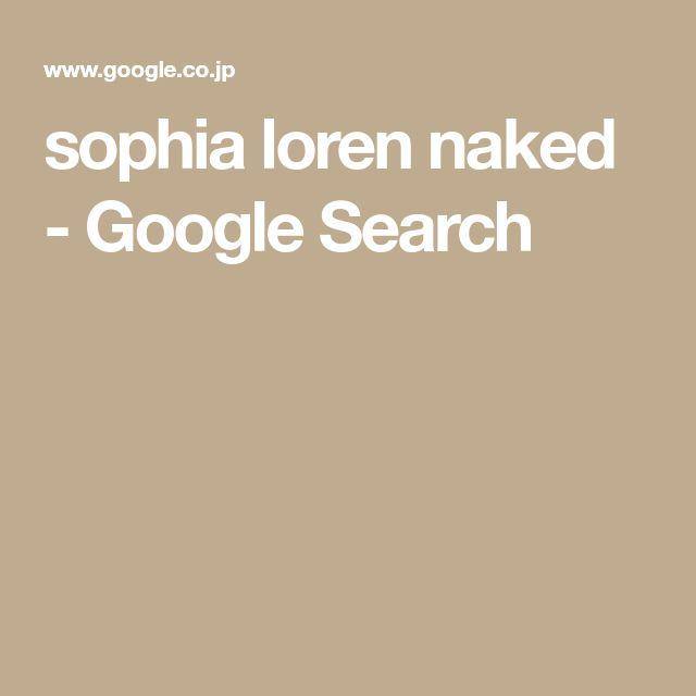 sophia loren naked - Google Search