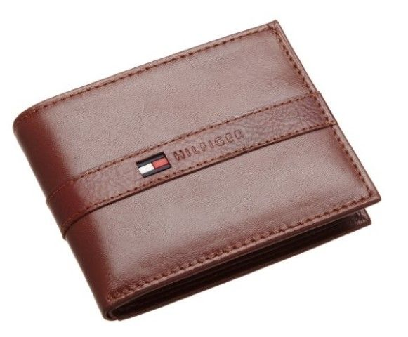 Travel light with this Tommy Hilfiger wallet. With 4 card holders and 1 bill compartment.This is a good quality wallet from a big brand name. #Wallet #Best Wallet Under 50 Dollars #TommyHilfiger