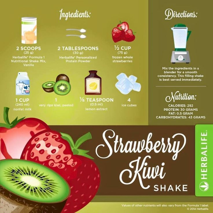 how to make the best strawberry protein shake