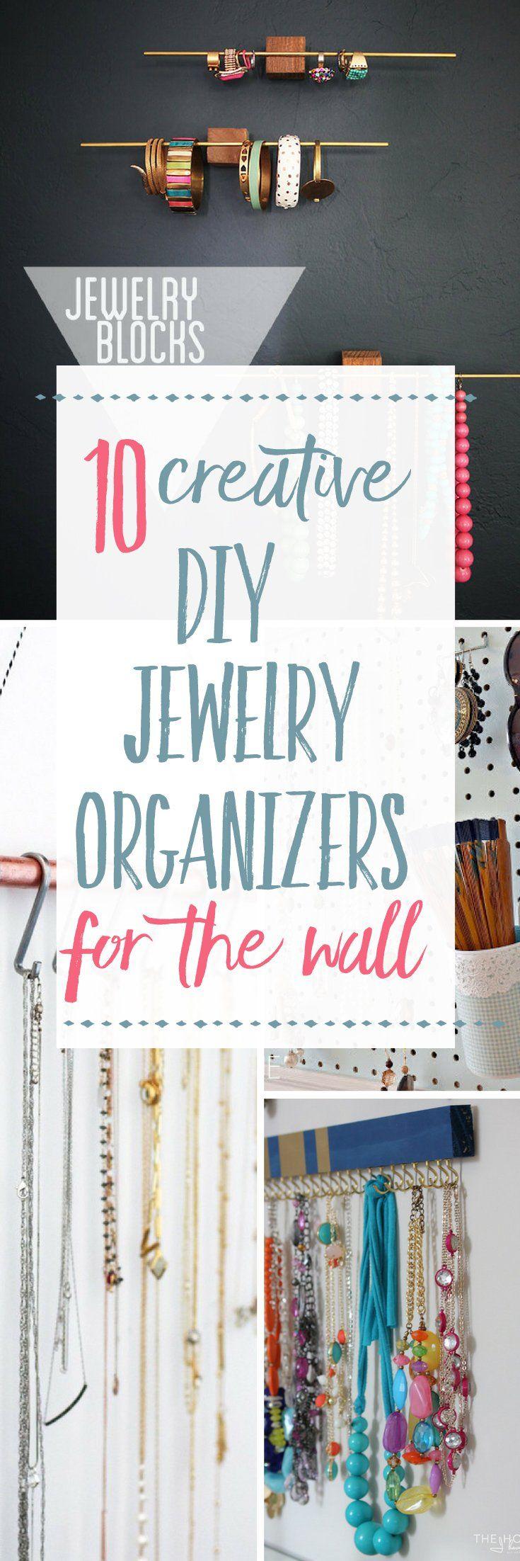 10 Creative DIY Jewelry Organizers Harbour