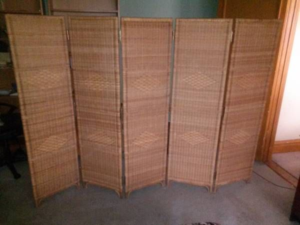 rattan room divider room dividers and such Pinterest Divider