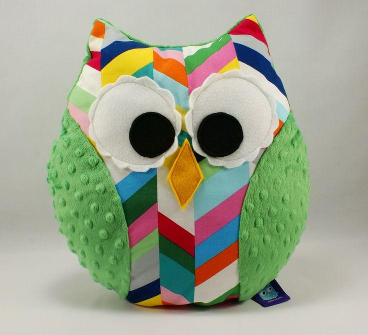 #owlpillow #owl #littlesophie #littlesophiepl #pillow #kidspillow #plushowl #minky