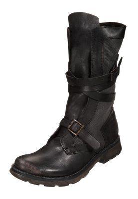 BEEGEE - Cowboystøvletter - sort