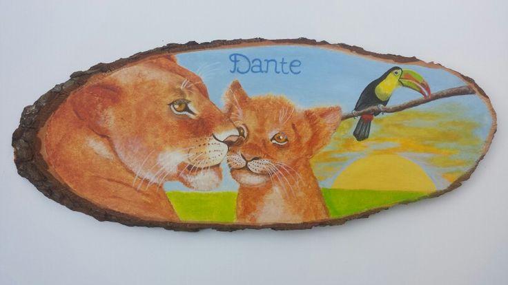 Naamschilderij Dante