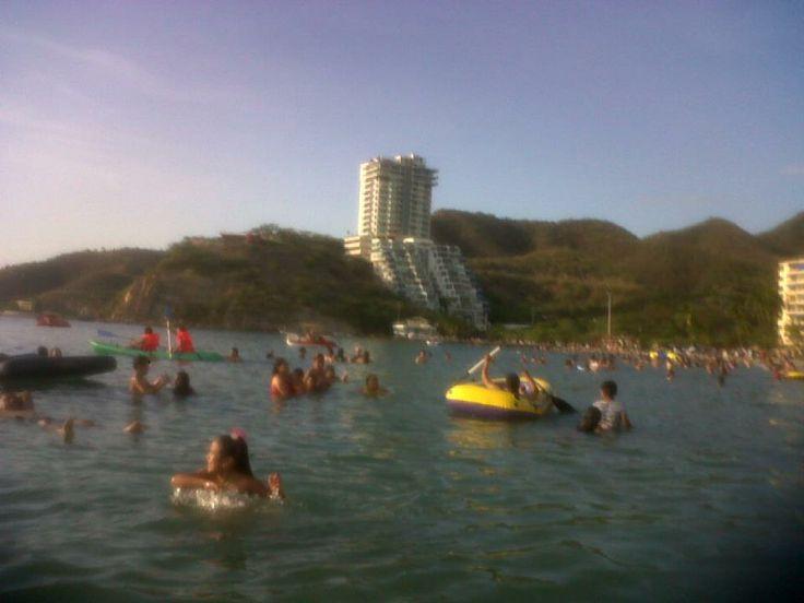 Playa Rodadero  (santa marta)