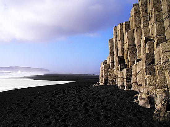 Black Beach @ Iceland: Beaches, Bucket List, Iceland, Black Beach, Travel, Places, Black Sand
