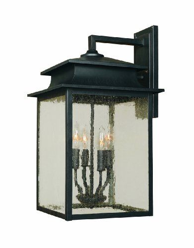 World Imports 9107-42 Sutton Collection 4-Light Outdoor Wall Sconce, Rust World Imports  I'm impressed with the World Imports lighting prices on Amazon.....