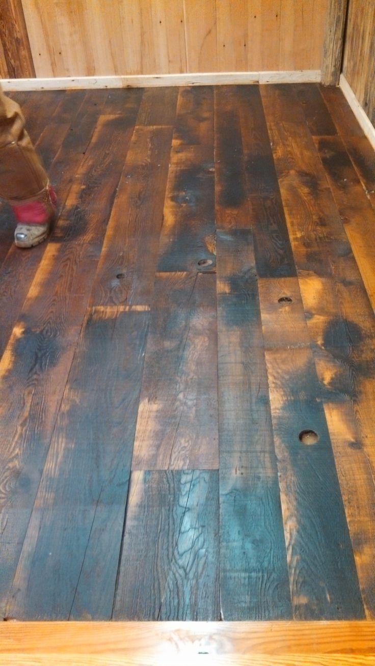 Reclaimed Hemlock Wide Planks Flooring http://www.realantiquewood.com