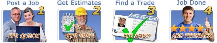 Find local, quality tradespeople in minutes. Post a job, get estimates, find a trade, job done!