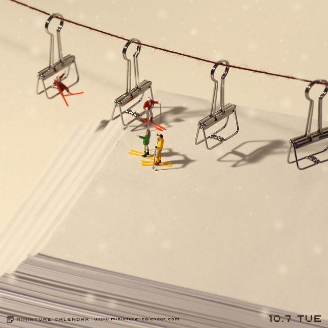 Ski lift..
