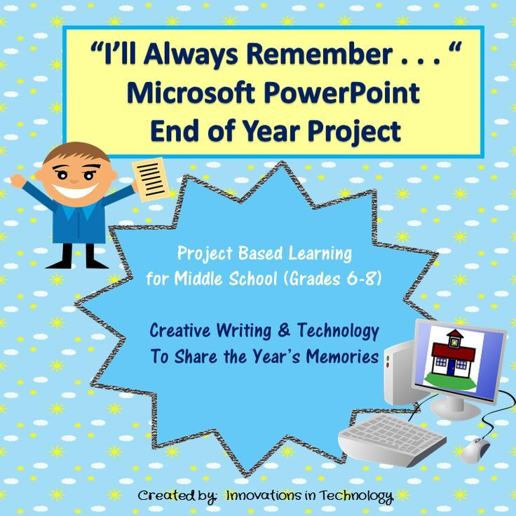 I Ll Always Remember End Of The Year Powerpoint Project Innovations In Technology Project Based Learning First Year Teaching Teaching Support