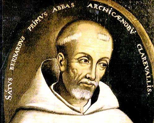 St. Bernard of Clairvaux - Cistercian abbot and Doctor of the Church