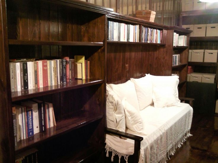 I love my wooden library made by geo vel -- extraordinary rooms--- dream house