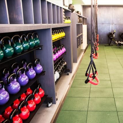 Must-Do Fitness Trends to Try Now | InStyle.com The Fhitting Room: The boutique fitness studio in New York City combines tools like kettlebells and suspension trainers with your own body weight to work each and every muscle group.