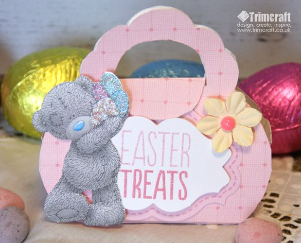 42 best easter project ideas images on pinterest ideas for easter me to you mini gift bag tutorial with free template negle Choice Image
