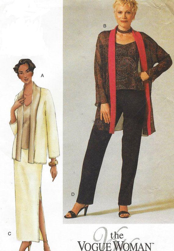 Vogue Sewing Pattern 7276 Womens Evening Jacket by CloesCloset