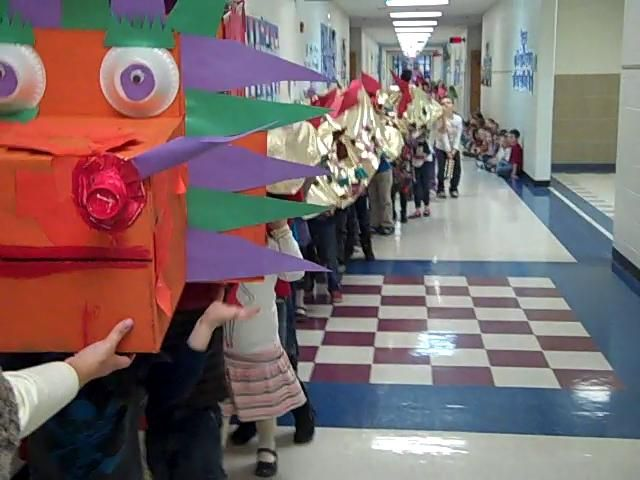 Kindergarten Chinese Dragon Dance 2012. Video by Fairy Dust Teaching.