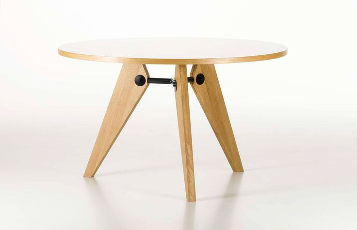 Gueridon Table by Jean Prouve for Vitra
