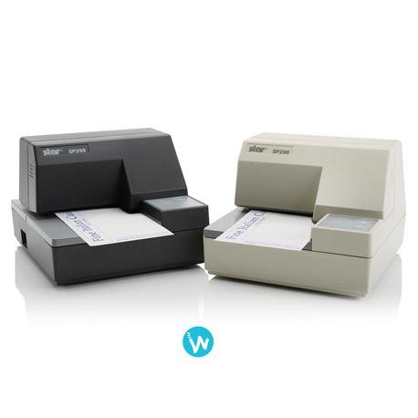 La SP298 est une imprimante de fichiers matricielle, compacte, robuste et fiable qui convient parfaitement aux feuilles volantes - le meilleur prix sur Waapos